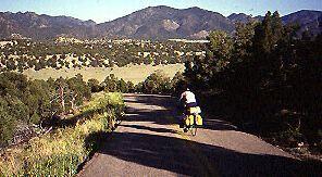 1984 Bike Tour: Day 40 – Running the Arkansas River, upstream