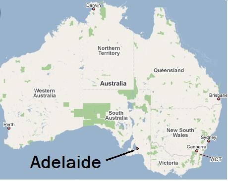 Map Of Adelaide Australia.Adelaide Map Biking Bis
