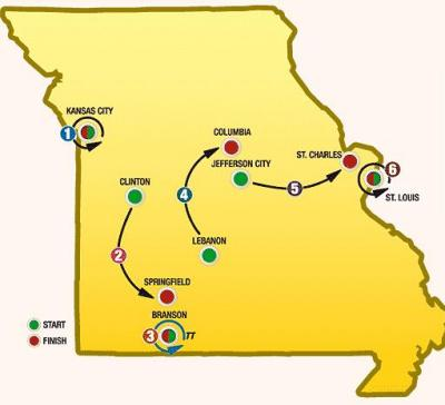 Tour Of Missouri Bike Race Host Cities Announced Biking Bis