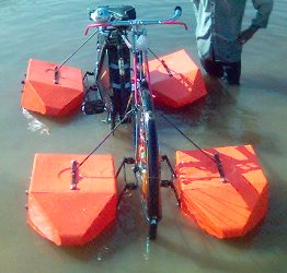 Amphibious Bicycle Biking Bis