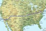 2012 RAAM route