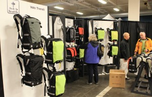 Velo Transit displays at the expo.