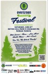 Evergreen Mountain Bike Festival poster