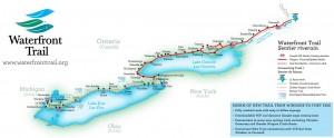 Ontario's Waterfront Trail (click for detail)