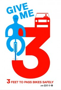 California Bicycle Coalition poster