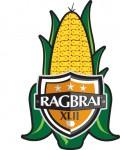 Logo for the 42nd annual RAGBRAI.