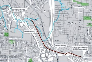 Northrup Way Connection in Bellevue