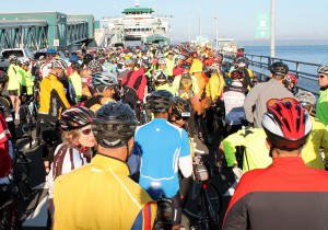 Waiting for ferry at 2012 Kitsap Color Classic