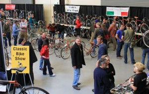 Classic bikes at Expo