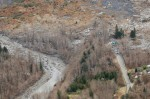 Highway 530 covered by landslide (WSDOT photo)