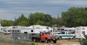 JWP campers at Ellensburg fairgrounds