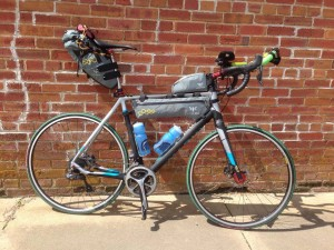 Ultralight rig for cross-country touring
