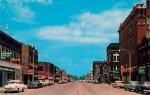 Vintage postcard of Main Street, El Dorado