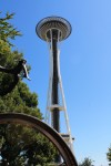 Space Needle is one bicycling destination