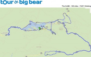 Tour de Big Bear 100-miler
