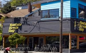 Montlake Bicycle Shop, one of 300 winners nationwide