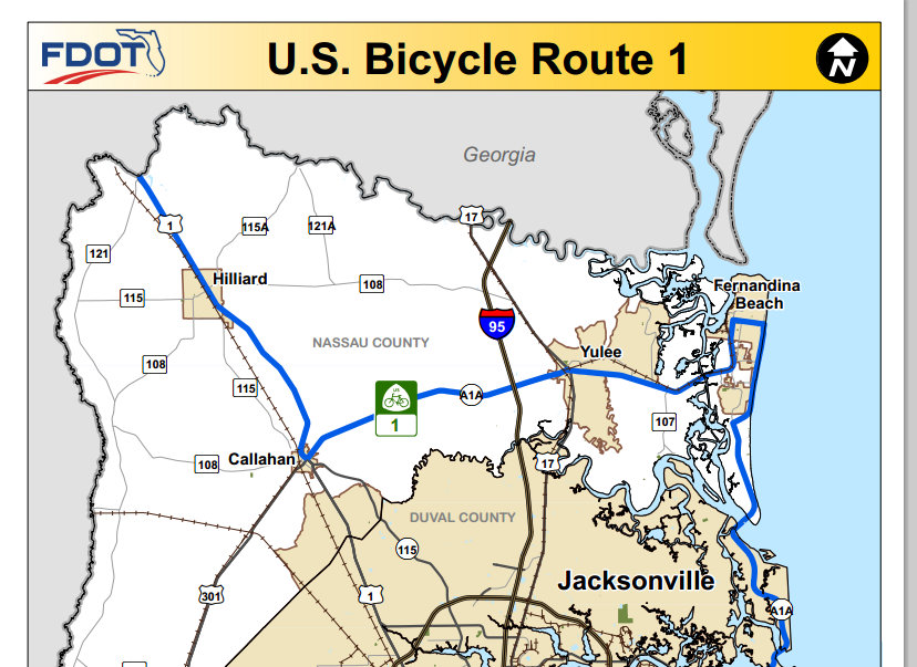 US Bicycle Route System Grows By Miles In Biking Bis - Us bicycle route system map