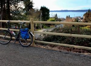 Long view across Lake Washington and beyond