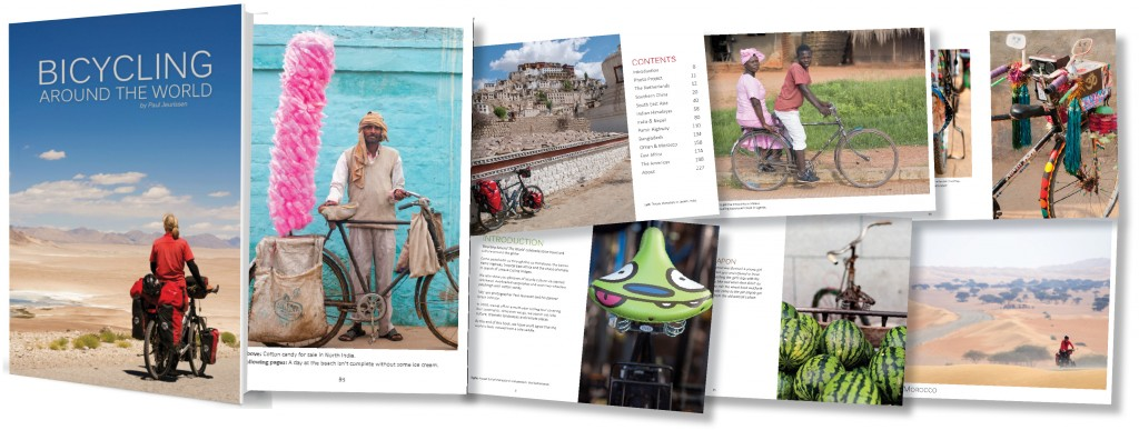 Selected images from Bicycling Around the World