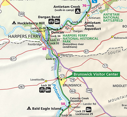 towpath trail map with Nps Rolls Back Proposed User And C Ing Fees On Co Canal Towpath on Regents as well 1ac01x besides Inv Area moreover Monon Trail also Billy Goat Trail Section A Chesapeake Ohio Canal National Historical Park Md.
