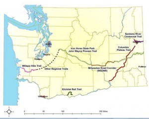 State rail-trails where farm traffic is now permitted