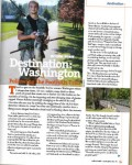 Foothills Trail featured in Rails-to-Trail magazine