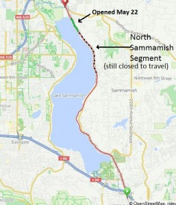 East Lake Sammamish Trail construction