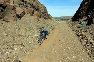 John Wayne Pioneer Trail -- dry side