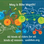 WashingtonBikes.org's colorful Bike Month poster