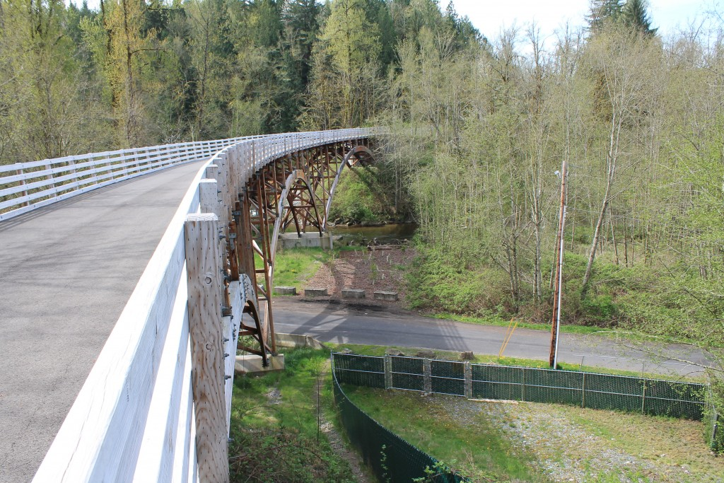 State funding will connect this inaccessible section of trail to the Foothills Trail in Pierce County
