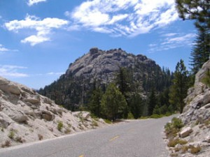 Sierra National Forest view -- by Sierra Vista Scenic Byway