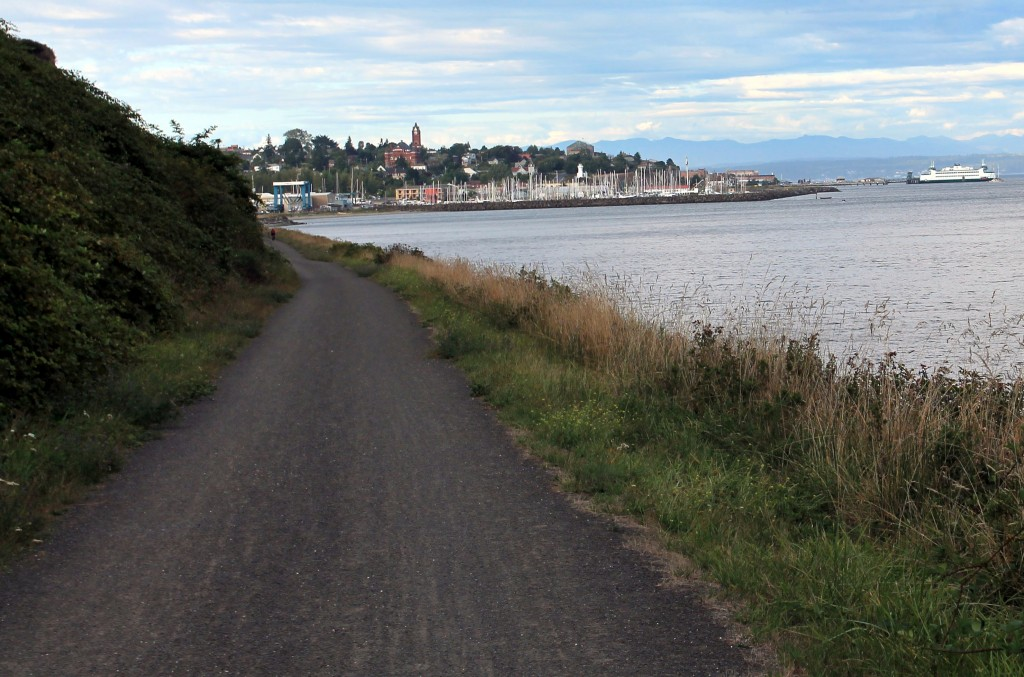 Port Townsend skyline from Larry Scott Memorial Trail