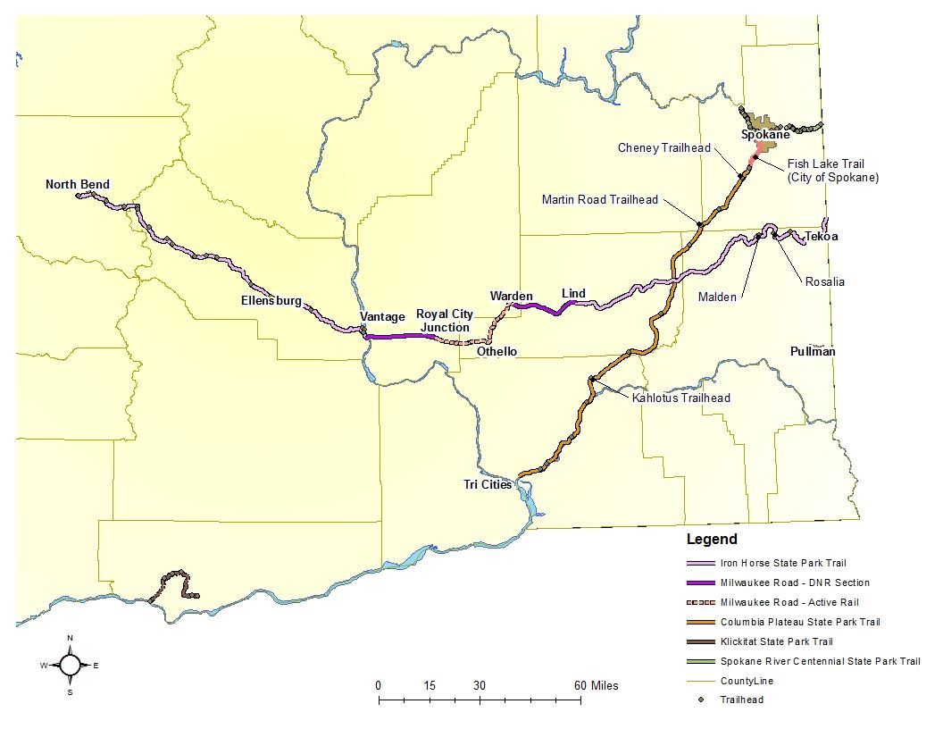 140 miles of trail under consideration (click for large view)