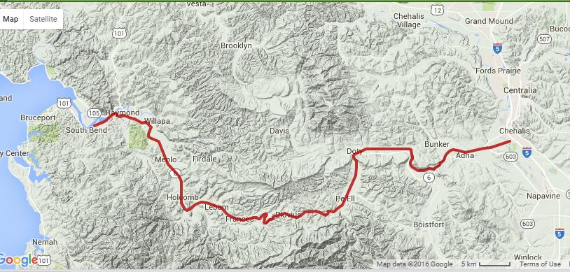 Willapa Hills Trail @ Traillink.com