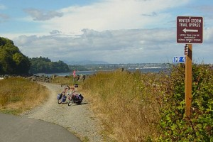 Discovery Trail near Port Angeles