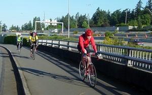 More bike commuters