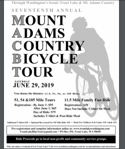 WA: Mt. Adams Country Bike Tour